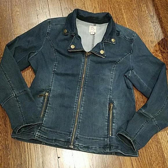 3547b069ea1 Dress Barn Jackets & Coats | Dressbarn Jean Jacket Size M | Poshmark